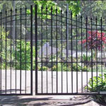 Wrought iron gates, made to measure